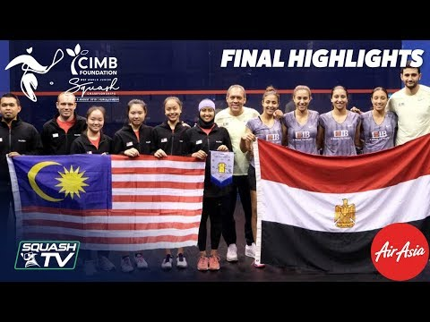 Squash: Malaysia v Egypt - WSF World Junior Team Final 2019 Highlights