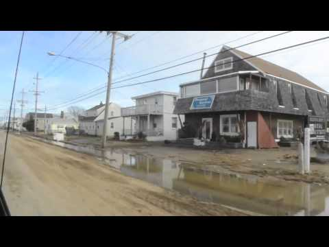 Long Beach Island after Hurricane Sandy