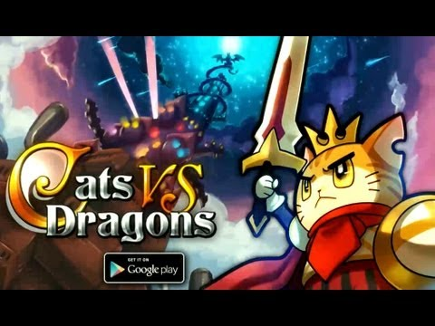 Video of Cats vs Dragons