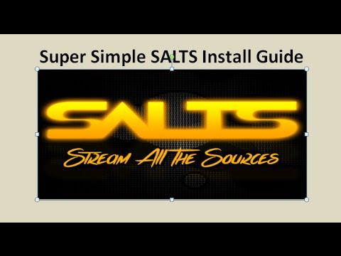 Kodi (XBMC) - Super Simple SALTS Video Add-on Installation