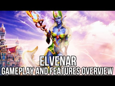 Elvenar (Free MMORTS): Gameplay and Features Overview