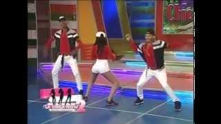 Video Katherine Tejada alborota al publico bailando dembow en Aqui se Habla Español MP3, 3GP, MP4, WEBM, AVI, FLV September 2018
