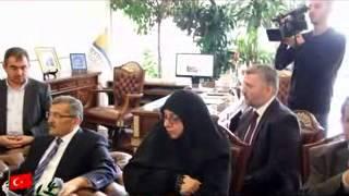 Zeytinburnu Belediye Başkanı Murat Aydın'ı Irak Heyeti Ziyaret Etti