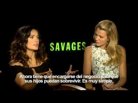 SALVAJES -Entrevista a Blake Lively y Salma Hayek