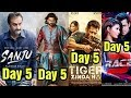 Sanju 5th Day Collection Vs Baahubali 2, Tiger Zinda Hai, Race 3 Box Office Collection
