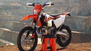 9. First Ride 2 Stroke Fuel Injection KTM 250 XC-W - Dirt Bike Magazine