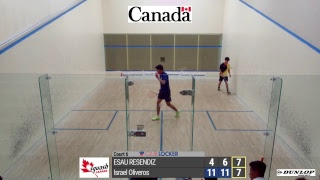 2018 12 09 - Afternoon - Canadian Junior Open - Court 6