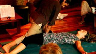 Thai Yoga Massage By Sebastian Bruno At The Sanctuary, Koh Phangan, Thailand