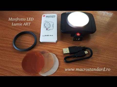 Lampa Manfrotto LED Lumie ART