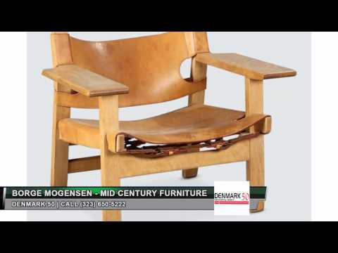 Buy Borge Mogensen furniture | Call (323) 650-5222 – Denmark 50 in Los Angeles