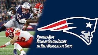 Chiefs vs Patriots Week 6 Regular Season First Half Highlights