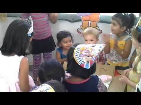 Birthday Party Celebration – Happy Feet for Kids Activity Center – RMV Bangalore