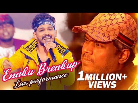 BREAK UP Song Live Performance by Hiphop Adhi | Yuvan Shankar Raja