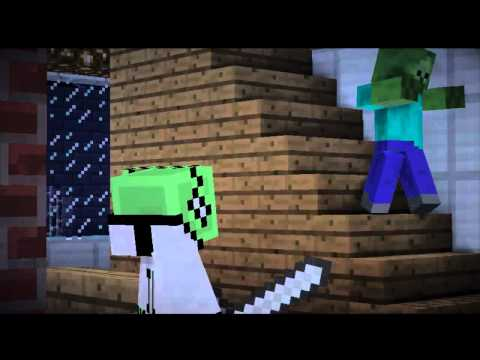 Minecraft Zombie Attack! Minecraft Movie
