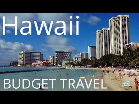 Hawaii Budget Travel: Tour from my hostel to Waikiki Beach, Honolulu
