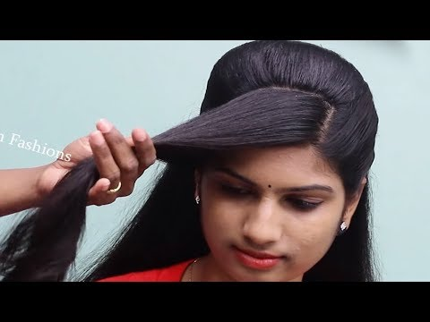 Easy Wedding guest hairstyle for girls  Beautiful hairstyles for long hair  hair style girl