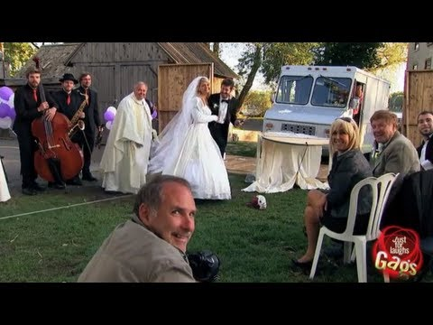 Real Life Wedding Crasher Gag - Youtube