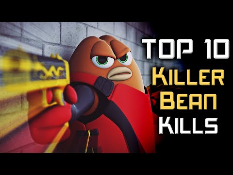 Top 10 Killer Bean Kills [4K]