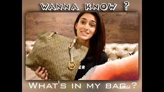 whats in my bag   ERICA FERNANDES