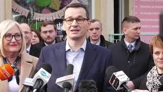 Spada bezrobocie, spada ZUS, spada CIT…Premier Morawiecki w akcji.