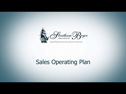 Sales Operating Plan
