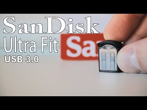 SanDisk Ultra Fit USB Drive (So Small)