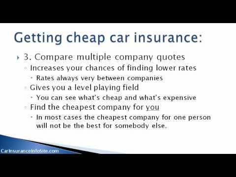 (Cheapest Car Insurance Rates In Ontario) – Get Cheap Rates