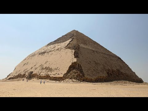 Zwei Pyramiden erstmals seit 1965 wieder zur Besichtig ...