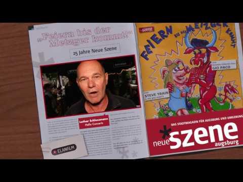 Neue Szene 25 Jahre Kino- und TV-Spot