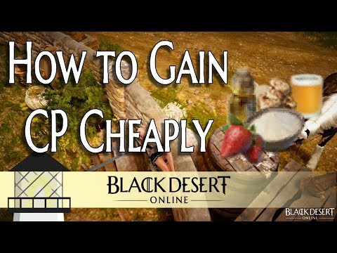 [BDO] The Easiest Way To Gain CP Completely AFK