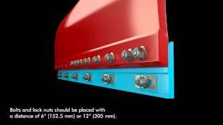 Инструкция по монтажу адаптационных плит на грейдер