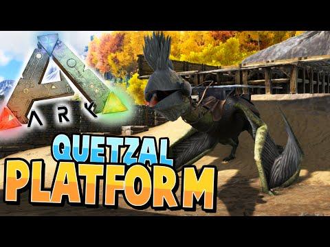 ARK: Survival Evolved | QUETZAL Transportation Platform! | S2Ep42 |