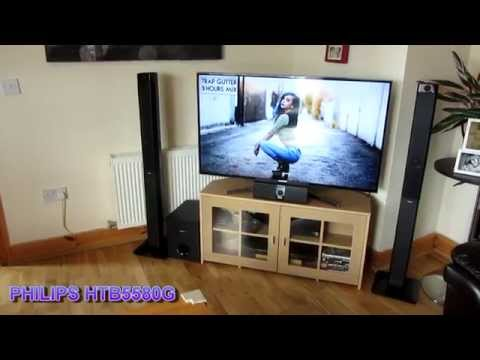 PHILIPS HTB5580G - 1000W RMS 3D Blu-ray Test Sound