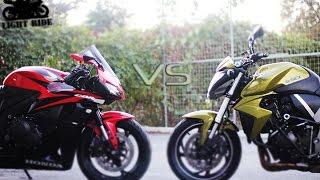 5. HONDA CB1000R VS CBR600RR