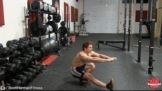 【爆発的な跳躍に】ピストルスクワットで臀部を鍛える!