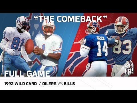 Video: 1992 AFC Wild Card: Houston Oilers vs. Buffalo Bills |