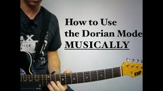 Video How to Use the Dorian Mode MUSICALLY MP3, 3GP, MP4, WEBM, AVI, FLV Juni 2018
