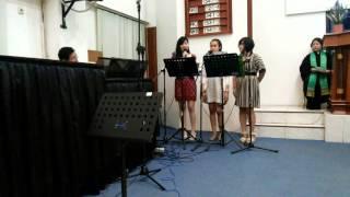 Lelah Meniti cover by merry kishia and noni