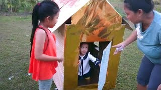 Video DIY Membuat Rumah Kardus Sederhana Untuk Anak Bermain - Playground Murah Dari Kardus Bekas MP3, 3GP, MP4, WEBM, AVI, FLV Agustus 2018