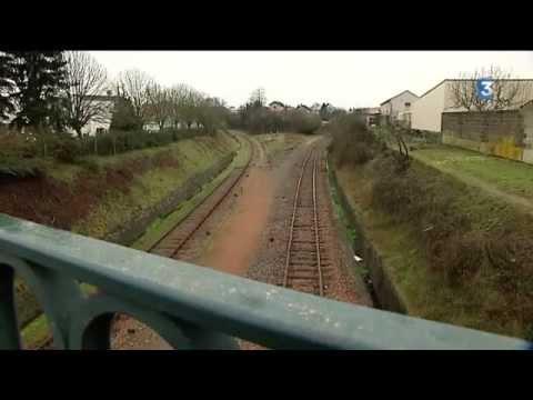 La gare-fantôme de Parthenay