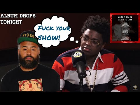 """Kodak Black walks out on Ebro and Hot 97""""Fuck Your Show!!""""  [Reaction]"""