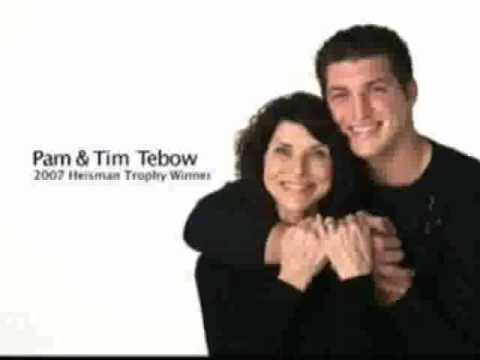 Super Bowl 2010 Commercial - Tim Tebow & Mom