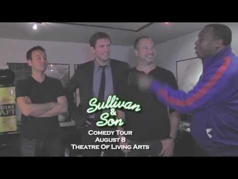 Sullivan & Son are bringing the funny to Philly!