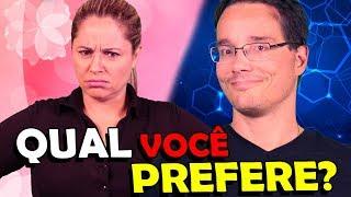 A ANDREZA ME AGREDIU DE VERDADE NESSE VIDEO!!! Tag: Qual Você Prefere?