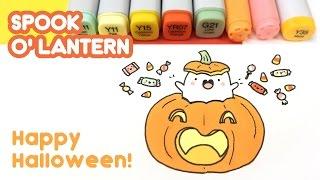 Spook-O'-Lantern Doodle - Happy Halloween!