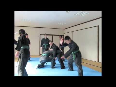 京都忍術不動心道場NINJUTSU IN JAPAN-Ninpo taijutsu-Happo biken-Nawa jutsu