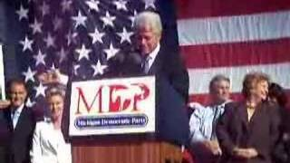 Taylor (MI) United States  city pictures gallery : Bill Clinton in Taylor Michigan Clip 1