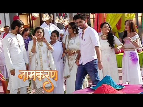 Neil And Dayawanti CRAZY Dance In Holi | Naamkaran