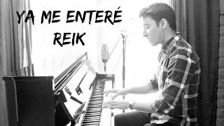 Video REIK  - Ya Me Enteré (Johan Sotelo) MP3, 3GP, MP4, WEBM, AVI, FLV Desember 2017