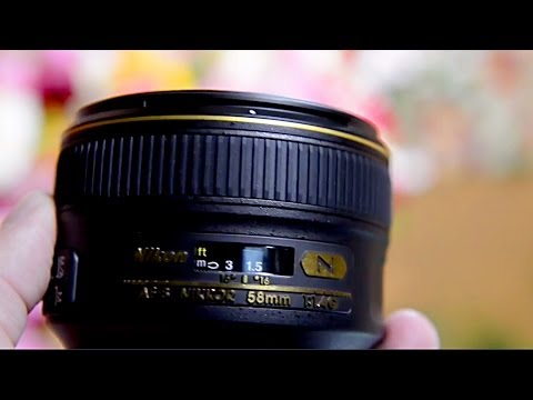 Nikon 58mm f/1.4G PREMIUM lens - Review